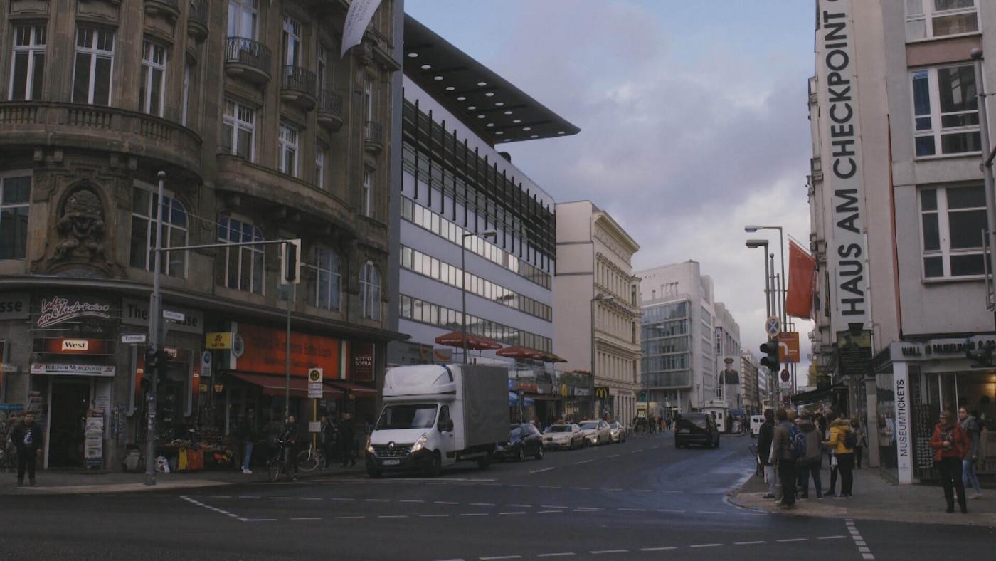 Wohnhaus am Checkpoint Charlie